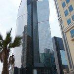 W, Doha, the building was pretty impressive.