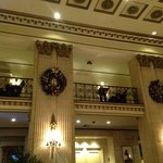 The lobby at Thanksgiving