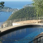 Pool and view to St. Jean Cap Ferrat