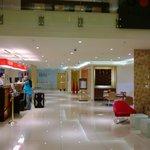 Ibis's lobby