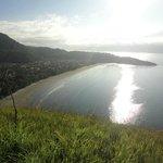 Vista do Morro da SABESP - Praia Barequeçaba