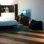 """Aloft's """"Double Queen"""" room. Nice floors"""