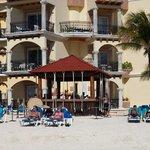 Hotellets strandbar