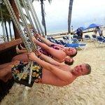 Strandbar-häng :)