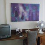 Room/tv,tea & coffee facilities.