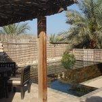 Private pool at Villa 67