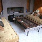 Petit salon au coin du feu