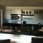 Vista parcial cozinha