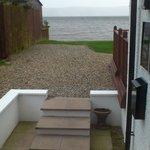View from front door step