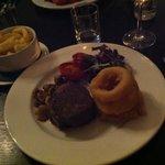 Fillet steak-amazing :-)