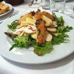 Starter - Mushroom salad