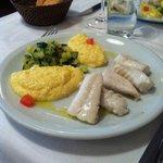 Main dish - Turbot