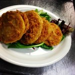 Hand Breaded Fried Green Tomatoes