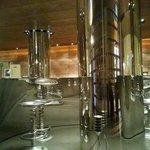 Il bar...incantevole atmosfera!
