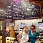 Friendly staff at White Mountain Cider Co!