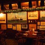 art inside the restaurant