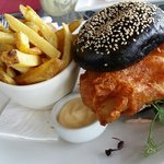 Fish burger - best fish ever!