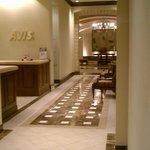 Corridor towards main lobby