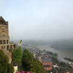 Oversees the river Rhine