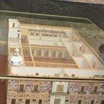 Otra vista de la maqueta del Museo (desde arriba ángulo inverso)