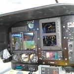 Julie's Cockpit (Seat 1 get's this view)