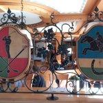 Interlaken - Restaurant at the Landhotel Golf Hotel  - interior impression