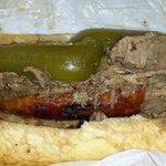 combo italian sausage and beef