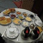 Café da manhã só pra gente. Lindo!