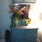 Beautiful dresser painted with Chalk Paint ®