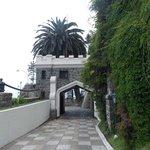 Entrada do restaurante Castillo del Mar.