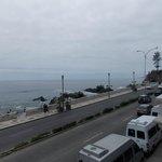 Vista do restaurante Castillo del Mar.