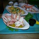 3 different shrimp