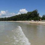 A quiet Naiyang beach