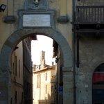Street Leading to La Bucaccia