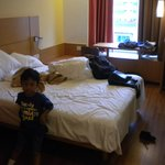 Room (this was on 2011 and my kid in the photo was around 1m tall so you can predict the room si