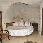 BEDROOM OF CAVE HOTEL