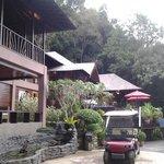 royal villa with butler