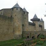 юг Франции,крепость Carcassonne