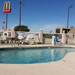La piscina del Days Inn