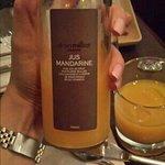 mandarinjuice, riktigt god!