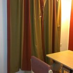 Curtains with clamp