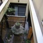 Little garden in the middle of the Ryokan