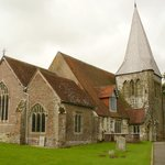 The old church associated with Hurstmonceux Castle