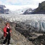 Glacier at Skaftafell NP