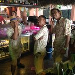 the awesome bartenders