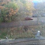 Railway line view