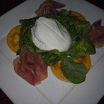 Prosciutto and Burrata - Italian food Los Angeles