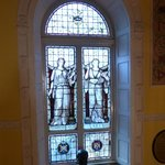 Stain Glass Window in Museum