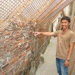 Smiley explains the history of Tho Ha Village
