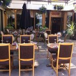 Our beautiful al fresco dining area.